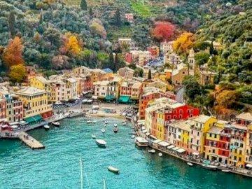 portofino - włoski zakątek dla turystów