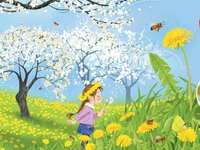 spring in the orchard jigsaw puzzle