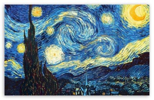 AceToday - Nuit étoilée de Van Gogh - Résoudre aujourd'hui (15×11)