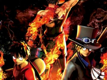luffy ace sabo - One Piece: Three Brothers, Luffy, Ace, Sabo
