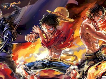 One Piece: Three Brothers, Luffy, Ace, Sabo - One Piece: Three Brothers, Luffy, Ace, Sabo
