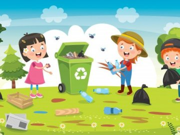 """We clean the lands - Compose """"We Clean Earths"""" puzzles"""