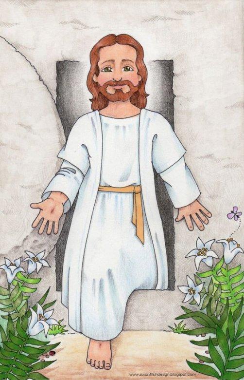 Jezus zmartwychwstały