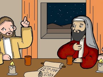 Nicodemus - Catechism: Nicodemus meets Jesus
