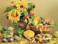 Bukiet Kwiatów, Owoce