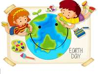Earth Day - Compose Earth Day puzzles and remember to care for the environment! :)