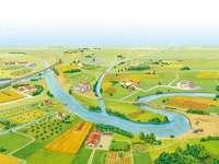 Laura bruno - la plaine aujourd'hui avec ses couleurs