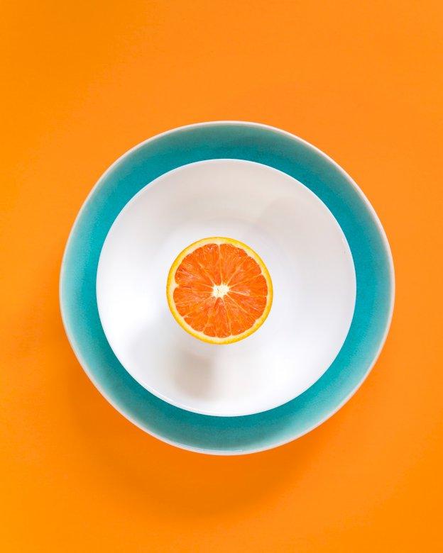Dziś bij obiad pomarańcza online puzzel