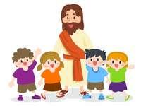 Ο Ιησούς και τα παιδιά - Ο Ιησούς και τα παιδιά. Ο Ιησούς είναι ανάμεσά μας