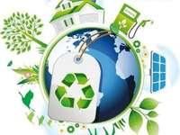 Jour de la Terre - Organisez le puzzle à partir des éléments