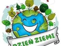 Dag van de aarde - Dag van de aarde. Puzzel voor Biedronki - Dag van de aarde. Biedronki - Dag van de aarde.