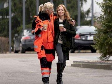 "Anna Reiter-Potocka & Zofia Banach - Anna Reiter-Potocka & Zofia Banach from the series ""On the signal""."