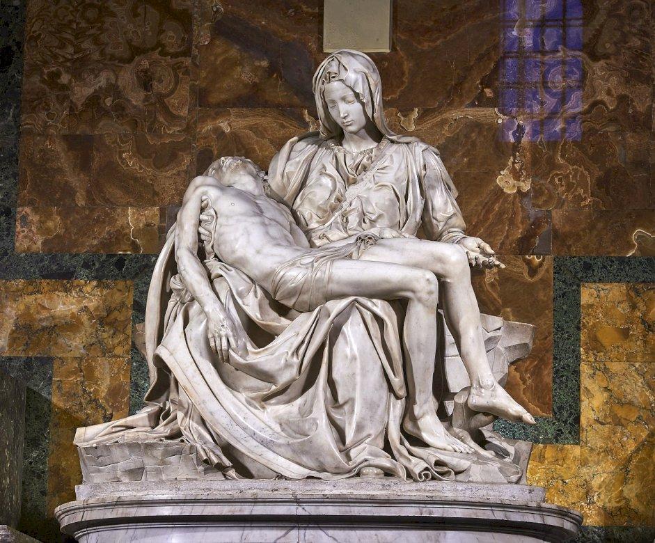 Pietà watykańska - Michał Anioł