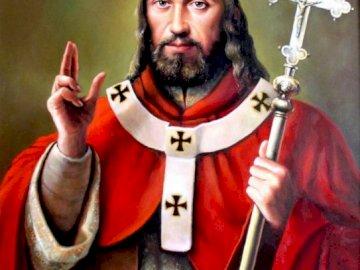 św. Wojciech - Św. Wojciech, patron Polski wspomnienie 23 kwietnia Osoba w czerwonym kapeluszu.