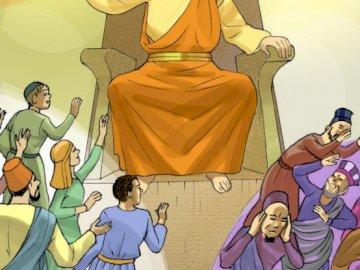 Parabole du débiteur implacable - Parabole du débiteur miséricordieux