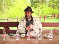 Kopsnij drina - wodka-test