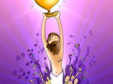 Jésus est ressuscité - Jésus montant au ciel