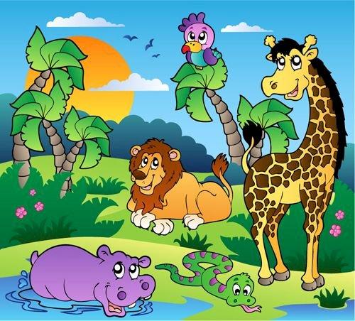 Tierische Pluzze - Pluzze von Tieren. Zweite Klasse (4×4)