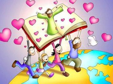 Καλά νέα - Θρησκευτικά παζλ, Ιησούς, Ευαγγέλιο