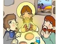 Emaús partiendo el pan