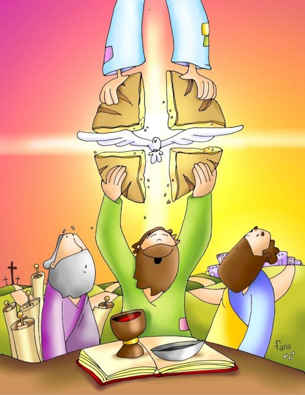 Festa eucarística - Festa eucarística.  Festa eucarística (13×17)