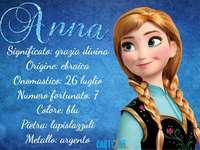 O nome Anna - O nome Anna, etimologia. Uma pessoa vestindo uma fantasia posando para a câmera.