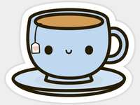 copo de chá - um jogo muito interessante e divertido de jogar para jovens alunos. Eu amo muito quebra-cabeças.