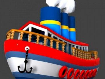 Mijloace de transport pe apă - Mijloace de transport pe apă. A birthday cake.