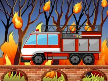 WHO WILL EXTEND FIRE? - PLACE THE PICTURE AND SEE WHO EXTINGS FIRE.
