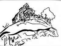 Schița capelei Montmorin