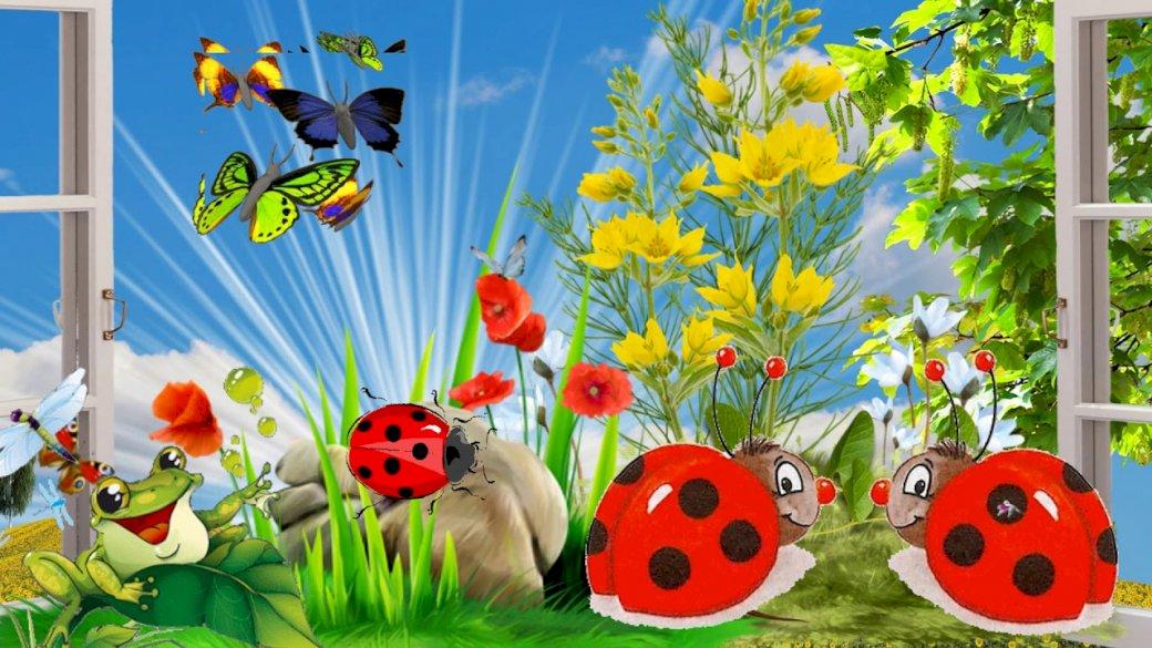 Wiosna na łące