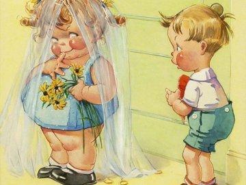 malá a tlustá nevěsta - malá a tlustá nevěsta.