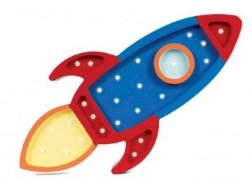 Foguete espacial - Um foguete entrando no espaço.