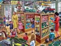 Magazin de jucării.