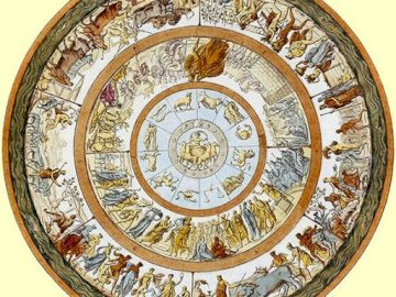 Achilles' shield - Help Héphaïstos to reconstruct the puzzle representing the shield of Achilles. A large clock mount