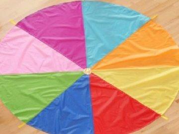 p oznacza spadochron - lmnopqrstuvwxyzlmnop. Kolorowy parasol.