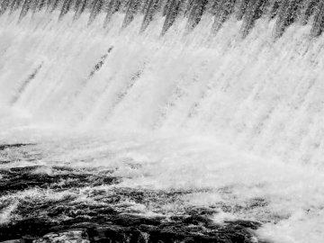 Waterfall - Body of water. Spokane.