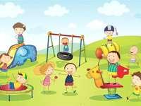 Игра на деца