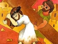Passie 5 - Jezus met het kruis