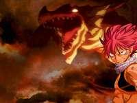 Natsu Dragneel Igneel (Fairy Tail) Приказна опашка