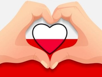 Poland is my homeland - Patriotic education / kindergarten. A close up of a logo.