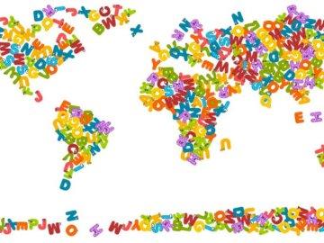 mappa del mondo - gioco puzzle con mappa del mondo.