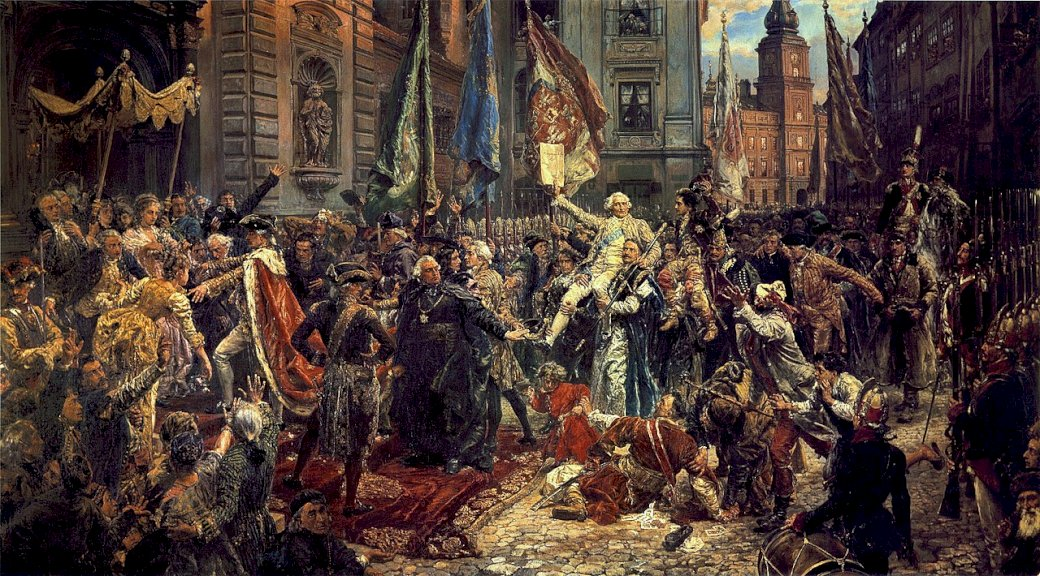 Vyhlášení ústavy ze dne 3. května
