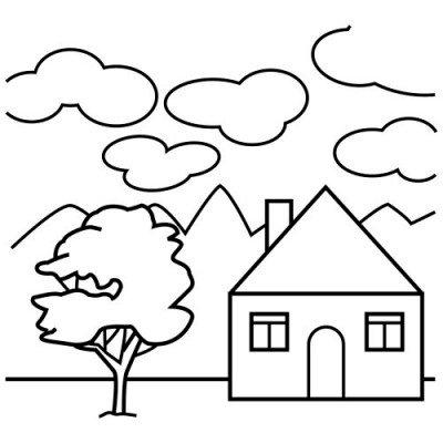 Domek do pokolorowania i ulozenia - wydrukujcie domek i pokolorujcie a potem wytnijcie i ukladajcie. Zbliżenie logo (3×3)
