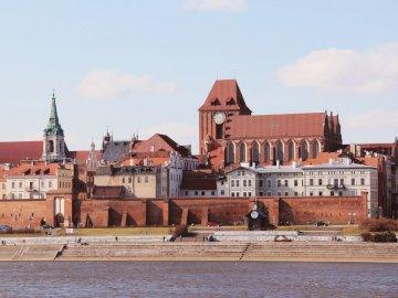 Panorama of Toruń