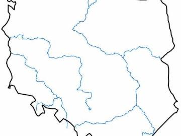 Ułóż puzzle Żabko, co to za kraj? - Ułóż prawidłowo puzzle. Zbliżenie mapy.