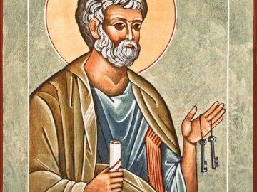 Ikona św. Piotr Apostoł - Ikona -  święty Piotr Apostoł.
