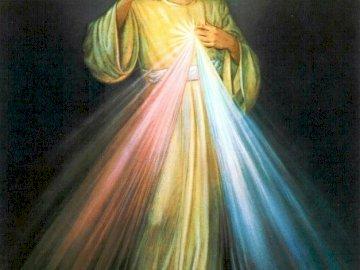 Jumalan Laupeus - Jeesus luotan sinuun. Dziewczyna w sukience.