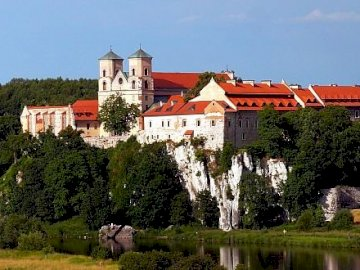 Benedictine Abbey - The picture shows the Benedictine Abbey in Tyniec.