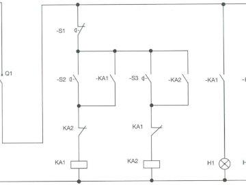 LPD76400 - schemat elektryczny do rekonstrukcji. Zakończenie up tekst na białym tle.